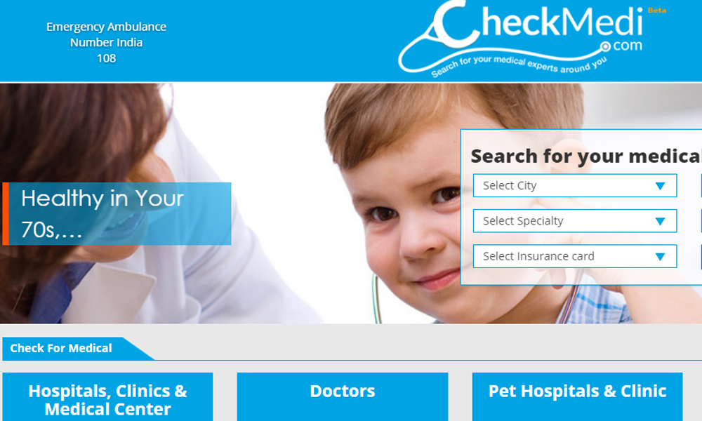 Checkmedi   Search for your medical experts around
