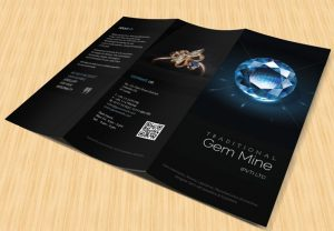 Gem Mine - Trifold Brochure